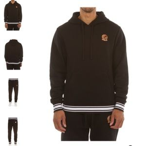 Hustle Gang Black 2 Piece Big Hunter Sweat Suit